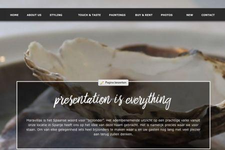 Nieuwe website Maravillas